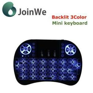 Best Quality Most Mini Wireless Keyboard Mouse Combo 3.3V Built-In Rechargeable Lithium Battery For Tv Box Laptop