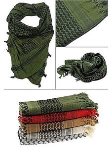 Pack Of 4 - Unisex Military Arab Army Scarf