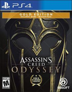 Assassin;s Creed Odyssey - PlayStation 4 Gold Steelbook Edition by Ubisoft