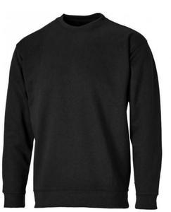 Black sweatshirt for men