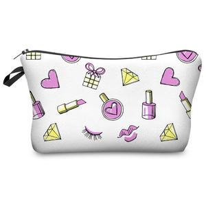 Small Makeup Bag Women Cosmetic Bags Organizer Box Ladies Handbag Wash