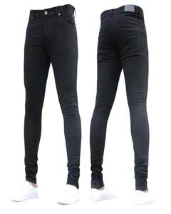 Skinny Fit Stretch Jeans For Men