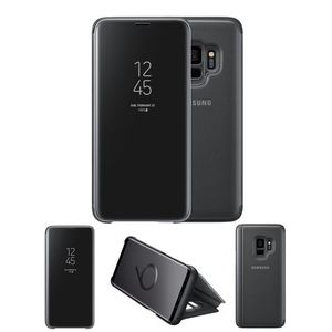 Original Samsung S9/ Samsung Galaxy S9 Clear View Cover Case/ Smart Cover - Black