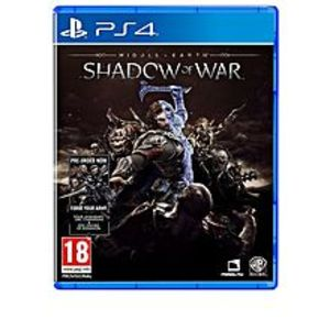 Warner Bros. GamesMiddle-Earth: Shadow Of War (Ps4) By Warner Bros. Interactive Entertainment