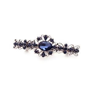 Classic Gemstone Hairpin Side Clip Rhinestone For Women Jewelry 13#