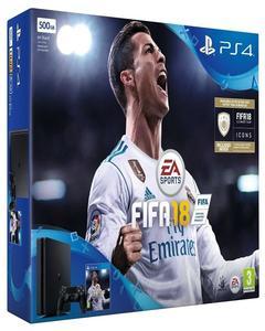 PlayStation Sony Ps4 500 Gb Fifa 18 Bundle With Fifa 18 Region 3