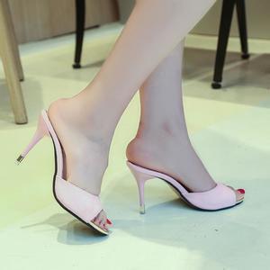 Fashion Women Sandals Summer Shoes Party High Heel Stiletto Open Toe Sandals