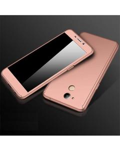 360 Full Protection Case Huawei Y7 Prime - Rose Gold