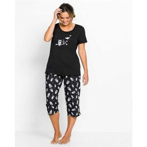 Black Full Night No Sleep Suit-ZQ638