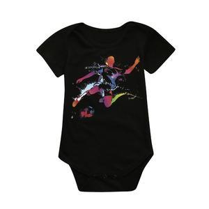 Stonershop Newborn Toddler Baby GirlsBoys Soccer Football Print Romper JumpsuitOutfits