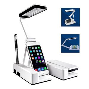 Portable 21 LED Rechargeable Table Lamp Rotatable Foldable Reading Desk Lights