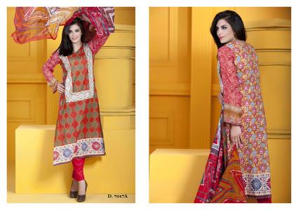 Sapna Chiffon Collection Design 7017-A