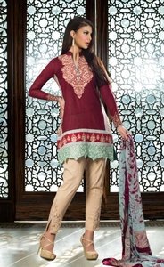 Zainab Chottani Luxury Lawn 2016 Design 4B