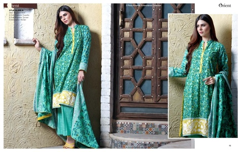 Orient Winter Khaddar Collection - Romantic - OTL-16-246-A
