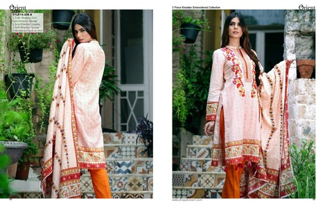 Orient Winter Khaddar Collection - Lotus - OTL-16-238-A