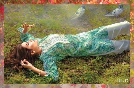 Al Karam Summer Fantasy Digital Lawn Design DL-17