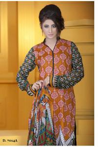 Sapna Chiffon Collection Design 7014-A