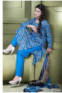 Sapna Chiffon Collection Design 7024-B