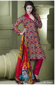 Sapna Chiffon Collection Design 7024-A