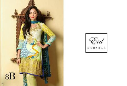 Ayesha Zara Eid Collection Design 8B