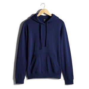 Classic Pullover Hoodie by Fifth Avenue - Navy Blue