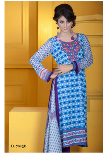 Sapna Chiffon Collection Design 7013-B