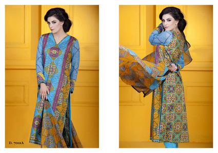 Sapna Chiffon Collection Design 7012-A