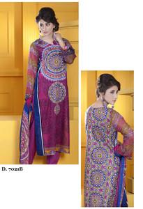 Sapna Chiffon Collection Design 7021-B