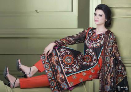 Sapna Chiffon Collection Design 7006-A