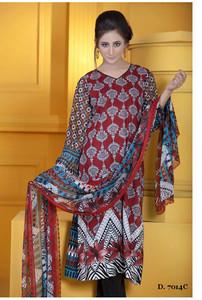 Sapna Chiffon Collection Design 7014-C