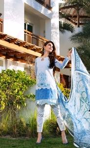 Zainab Chottani Luxury Lawn 2016 Design 7B