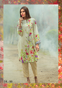Al Karam Summer Fantasy Digital Lawn Design DL-10