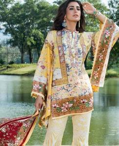 Shehla Chatoor Luxury Lawn by Shariq Textiles SC8B