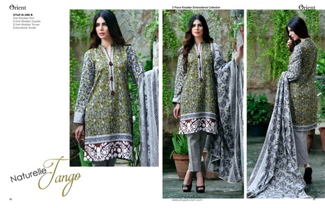 Orient Winter Khaddar Collection - Romantic - OTL-16-246-B