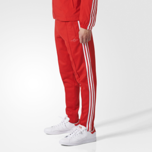 Fifth Avenue Mens Limited Edition Dri-Fit Tri Stripe Track Pants - Red and White