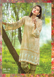 Al Karam Summer Fantasy Digital Lawn Design DL-18