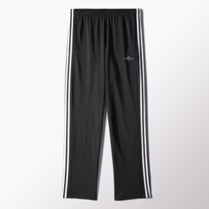 Fifth Avenue Mens Dri-Fit Tri Stripe Track Pants - Black