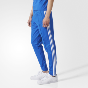 Fifth Avenue Mens Limited Edition Dri-Fit Tri Stripe Track Pants - Royal Blue and White