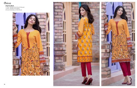 Orient Winter Khaddar Collection - Prairie- OTL-16-242-A