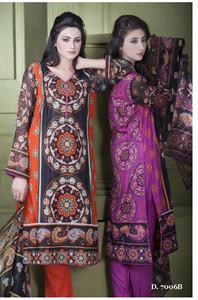 Sapna Chiffon Collection Design 7006-B