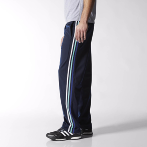 Fifth Avenue Mens Dri-Fit Tri Stripe Track Pants - Shades of Blue