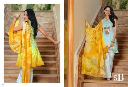 Ayesha Zara Eid Collection Design 5B