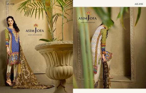 Asim Jofa Luxury Lawn 2016 03B