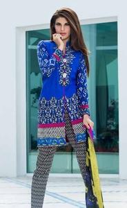 Zainab Chottani Luxury Lawn 2016 Design 1B