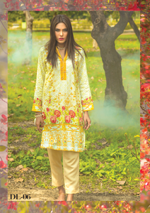 Al Karam Summer Fantasy Digital Lawn Design DL-06
