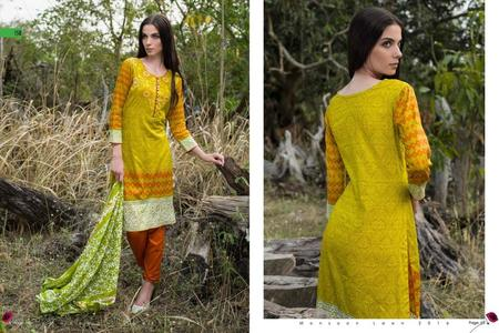 Monsoon Lawn 2016 Vol 2 by Al Zohaib Design 15B