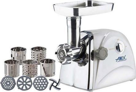 Anex - Meat Grinder & Vegetable Cutter - WhiteHurry up! Sales Ends in