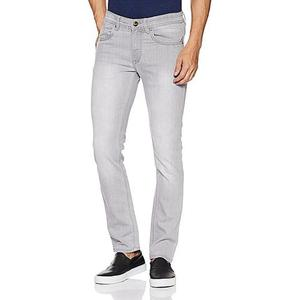 Slim Fit Jeans For Men - Light GreyHurry up! Sales Ends in