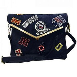 Bindas Collection - Denim Hand Bag For Women - BlueHurry up! Sales Ends in