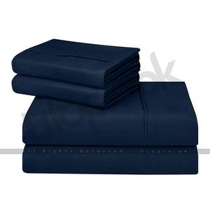 Soft Brushed Microfiber Wrinkle Fade Bed Sheet Set - 3 Piece - Twin Size - BlackHurry up! Sales Ends in